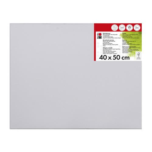 Schildersdoek 40 x 50 x 1,8 cm, 380 g/m²