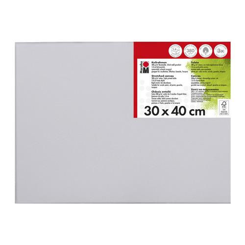 Schildersdoek 30 x 40 x 1,8 cm, 380 g/m²