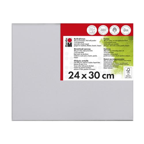 Schildersdoek 24 x 30 x 1,8 cm, 380 g/m²