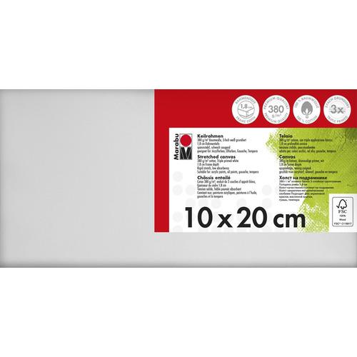 Schildersdoek 10 x 20 x 1,8 cm, 380 g/m²