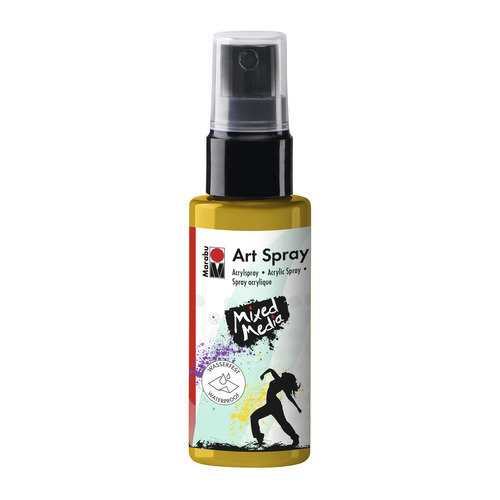 Art Spray 50ML - Zonnegeel