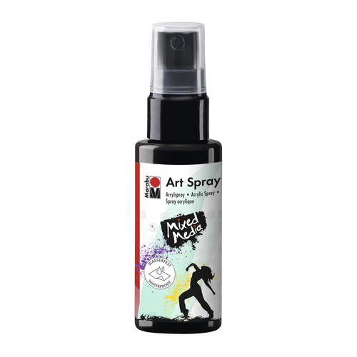 Art Spray 50ML - Zwart