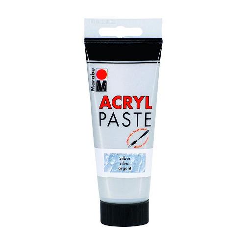Acrylpaste 100 ML - Zilver