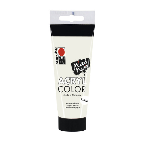 Acrylcolor 100 ML - Metallic wit