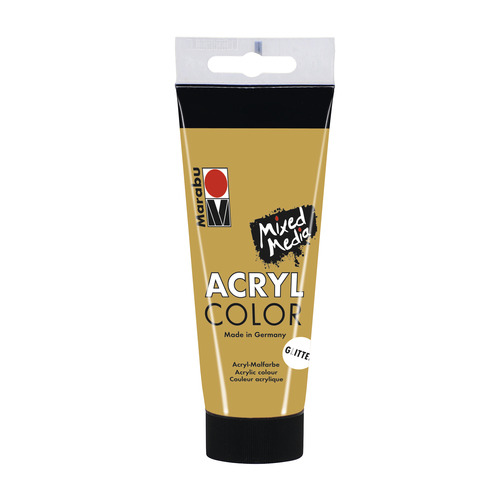 Acrylcolor 100 ML - Glitter goud