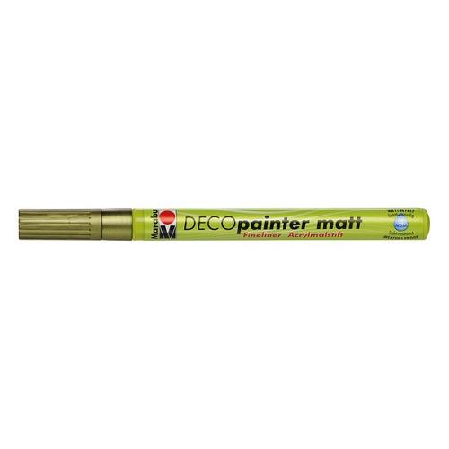 Decopainter fineliner 1 mm - Goud
