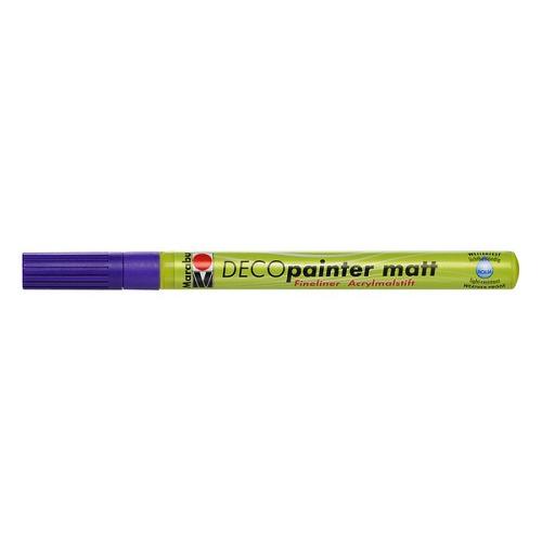 Decopainter fineliner 1 mm - Amethyst