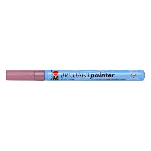 Brilliant painter 0.8 mm - Roze metallic