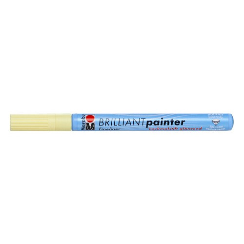 Brilliant painter 0.8 mm - Ivoorwit