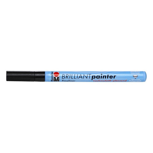 Brilliant painter 0.8 mm - Zwart