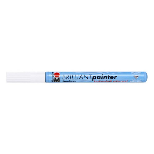 Brilliant painter 0.8 mm - Wit