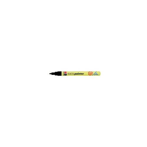 Textil painter - punt 1 - 2 mm - Zwart