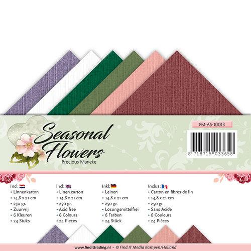 Linnenpakket - A5 - Precious Marieke - Seasonal Flowers