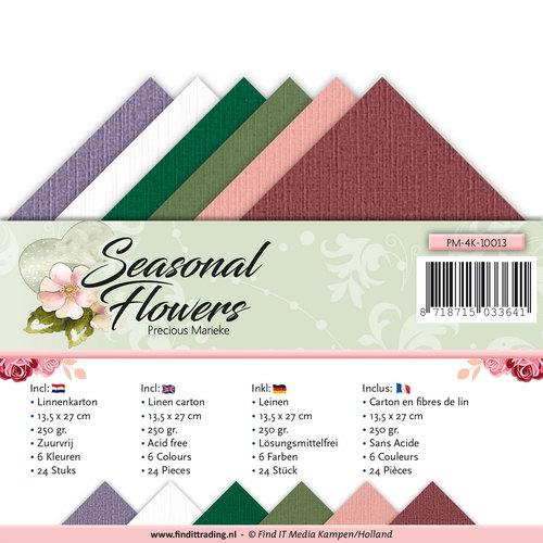 Linnenpakket - 4K - Precious Marieke - Seasonal Flowers