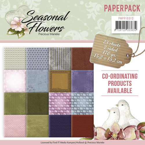 Paperpack - Precious Marieke - Seasonal Flowers