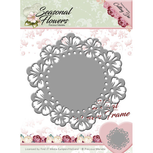 Die - Precious Marieke - Seasonal Flowers - Seasonal Flowers Frame