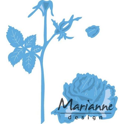 Marianne D Creatable Tiny`s roos LR0451 9,5x13,0cm (01-17)