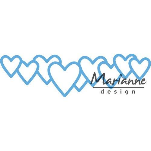 Marianne D Creatable Lots of love LR0450 8,0x16,0cm (01-17)