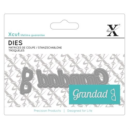 Mini Sentiment Die (2pcs) - Grandad