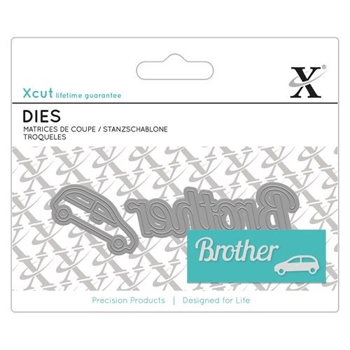Mini Sentiment Die (2pcs) - Brother