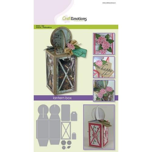 CraftEmotions Die - lantern box Card A5 box 58x160x58 mm (02-17)