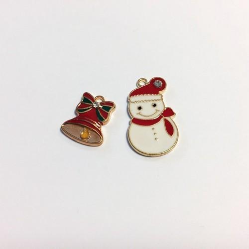 Kerst Bedels Sneeuwman & Bel 12422-2201