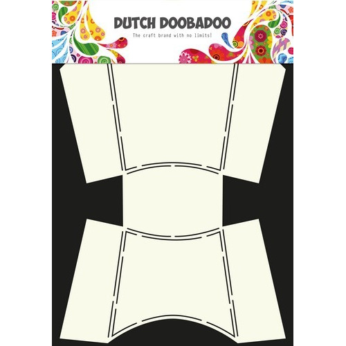 Dutch Doobadoo Dutch Envelop Art box french fries A4 470.713.021 (12-16)