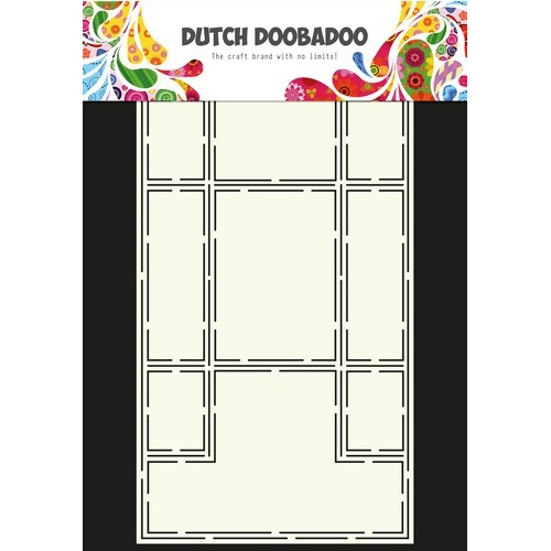 Dutch Doobadoo Dutch Card Art Stencil Trifold A4 470.713.316 (12-16)