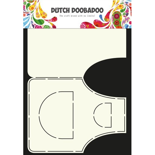 Dutch Doobadoo Dutch Card Art Stencil schort A4 470.713.616 (12-16)