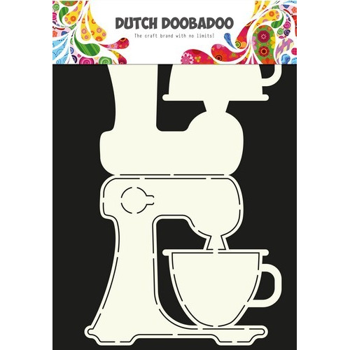 Dutch Doobadoo Dutch Card Art Stencil keuken machine A4 470.713.617 (12-16)