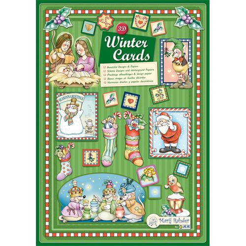 MRJ 3D Wintercards