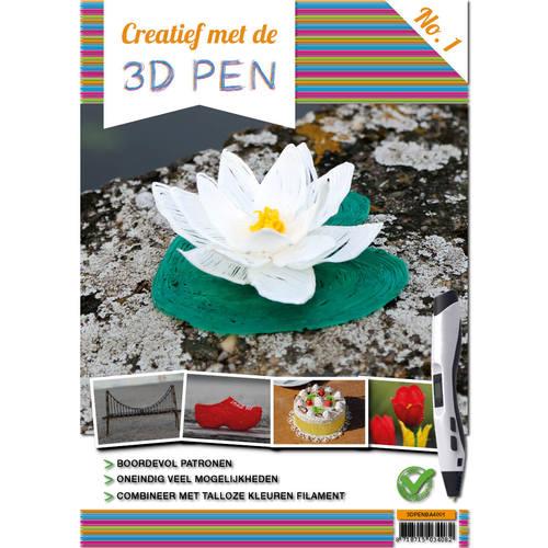 A4 boek - Creatief met de 3D-pen