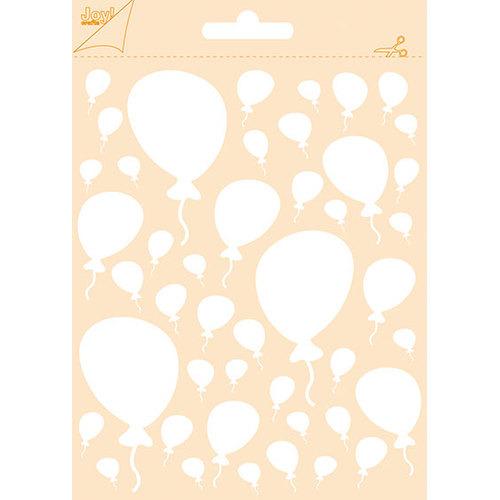 Polybesa embosstencil - Ballonnen
