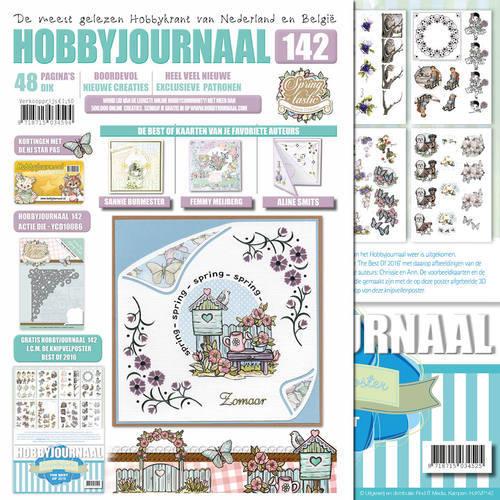 Knipvelposter + Hobbyjournaal 142