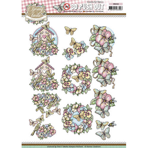 Pushout - Yvonne Creations - Spring-tastic -