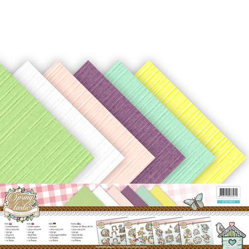 Linnenpakket - Scrap - Yvonne Creations - Spring-tastic