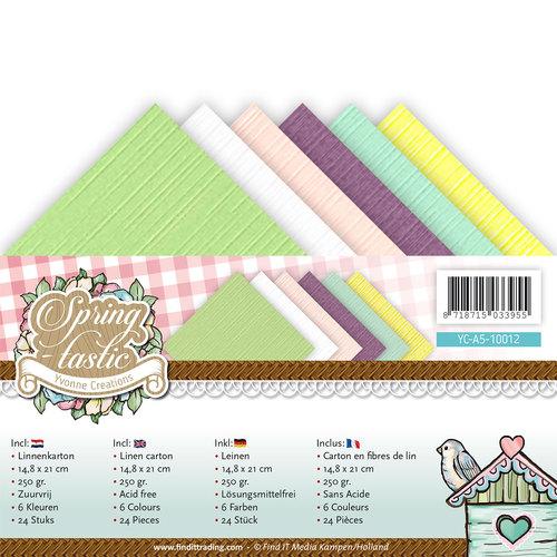 Linnenpakket - A5 - Yvonne Creations - Spring-tastic