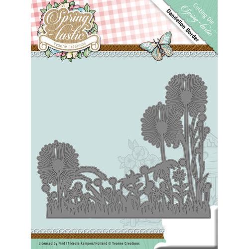 Die - Yvonne Creations - Spring-tastic - Dandelion Border