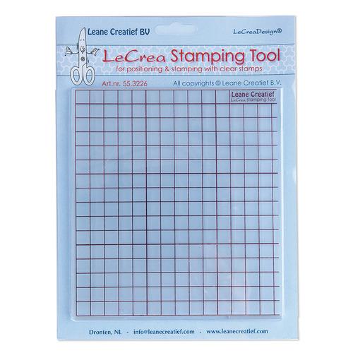 Leanes Stamping Tool voor positioneren en afdrukken van clear stamps