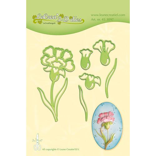 Leabilitie® Carnation snij en embossing mal
