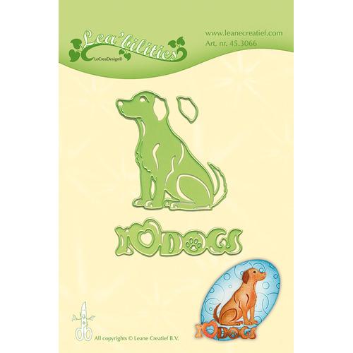 Leabilitie® Dog snij en embossing mal