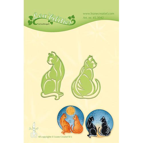 Leabilitie® Cats snij en embossing mal