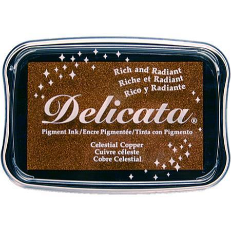 Delicata Inkpad metallic Celestial copper