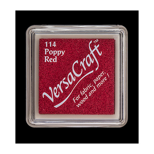 Versacraft Inkpad small Poppy Red