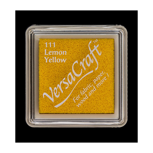 Versacraft Inkpad small Lemon Yellow