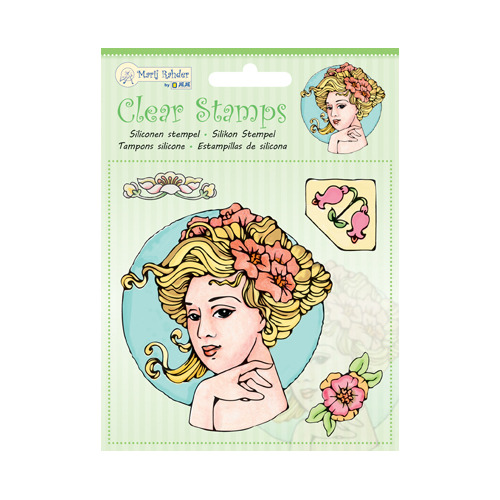MRJ Clear Stamps Jugendstil