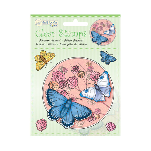 MRJ Clear stamps Butterfly