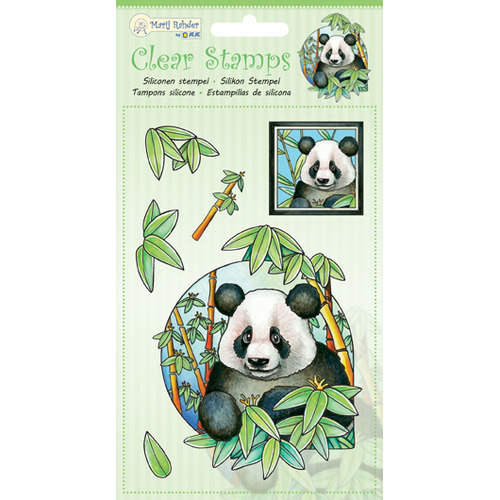MRJ Clear Stamps Panda