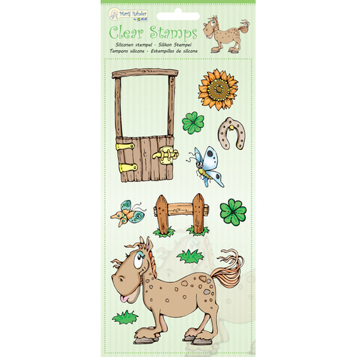 MRJ Clear Stamps Horse