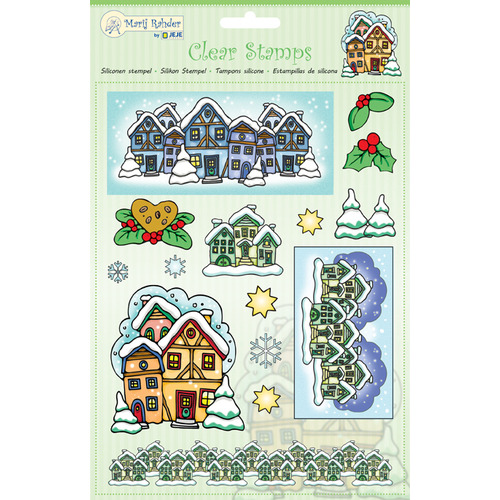 MRJ Clear Stamps Winter